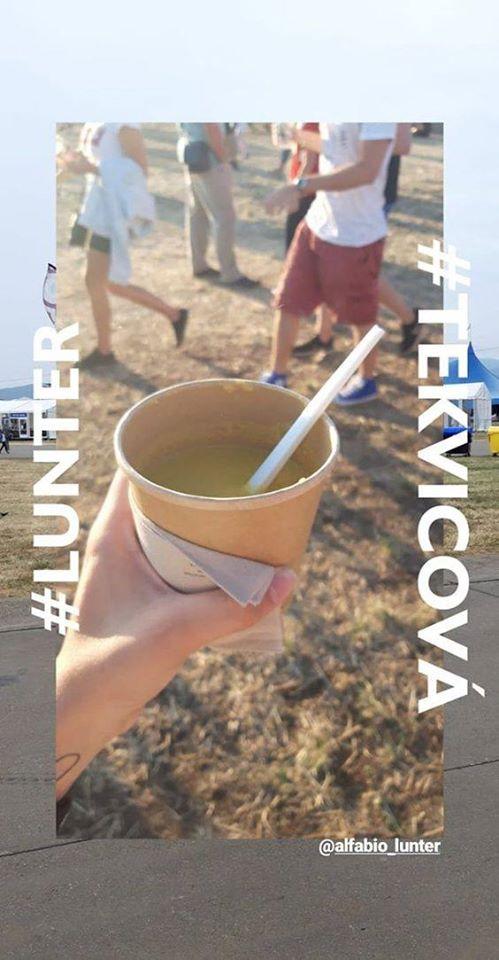 lunter polievka  vegan food vegan festival pohoda leto jedlo rostlinne
