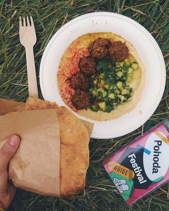 falafel pohoda festival vegan hummus