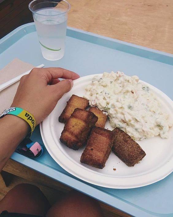 vegan jedlo festival pohoda tofu lunter