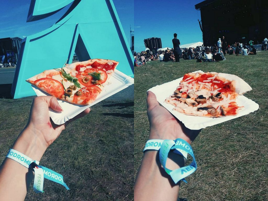 aerodrome festival pizza vegan