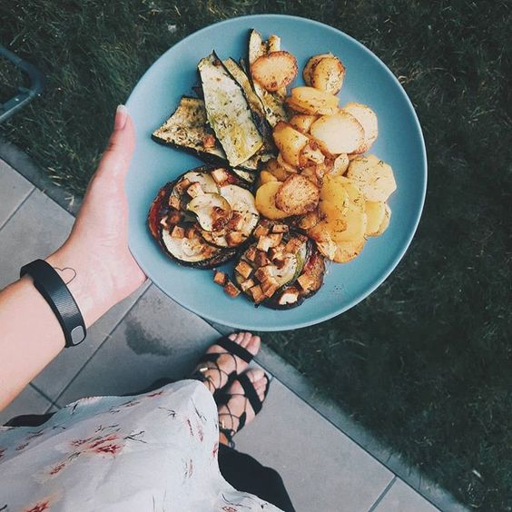 zemiaky grilované vegan