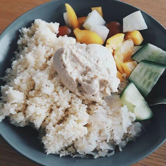 veganské jedlo
